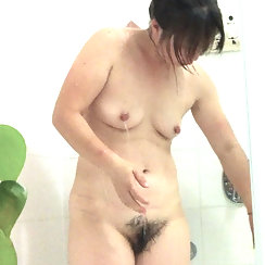 Wet And Hairy In The Shower