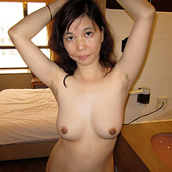 Hairy Asian About To Suck Cock