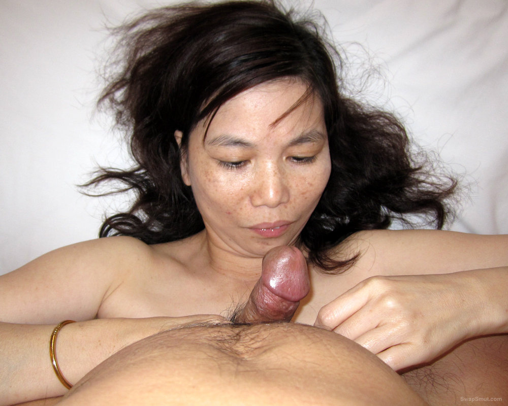 Hot Asian Cutie Shows Us Her Tits And Extremely Hairy Pussy