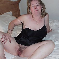 Babe Can't Wait To Have Her Hairy Pussy Fucked