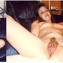 Babe With Hairy Snatch Has Orgasms!
