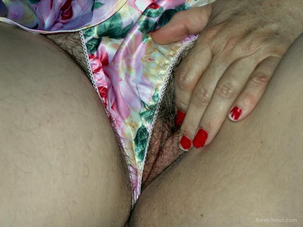 Her Pussy Looks Amazing With Panties To The Side