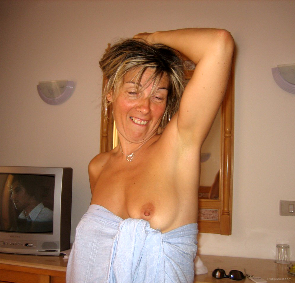 Great milf in shower