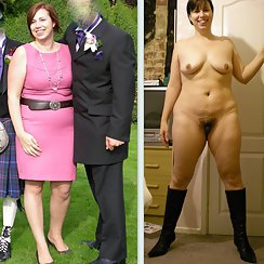 Hairy, Chubby Girl Shows Before And After Pics Of Her Wearing Clothes And Naked