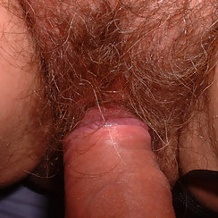 Babe With Amazing Hairy Pussy Gets Fucked