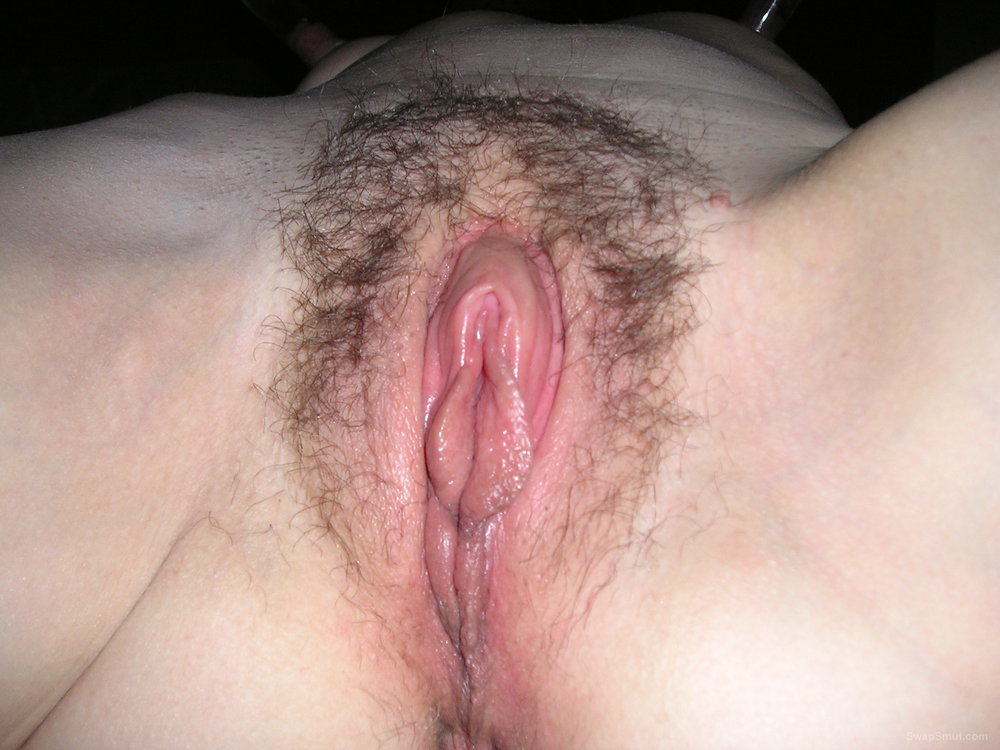 Hairy Babe Has Nice Plump Pussy Lips