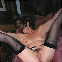 Total MILF Spreads Her Pussy And Shows All Her Hair