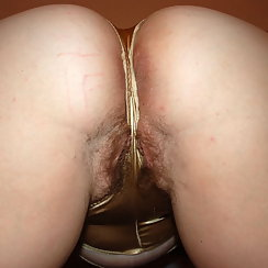 Perfect Ass Is Full Of Hair, Pussy Too!