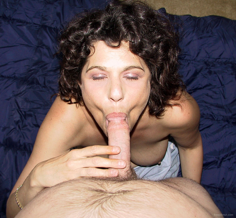 Sexy Woman Sucks Cock Like A Pro, Shows Hairy Pussy
