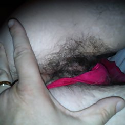 Feeling Her Tight, Hairy Pussy With His Fingers Before Fucking Her