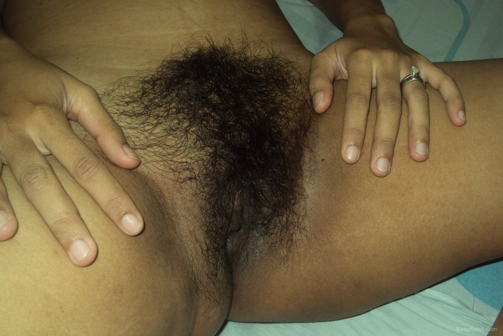 Cute Asian Girl Bends Over And Shows Us Her Black Hairy Bush