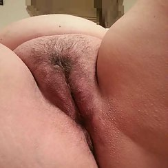 BBW Has Nice Cubby Hairy Pussy