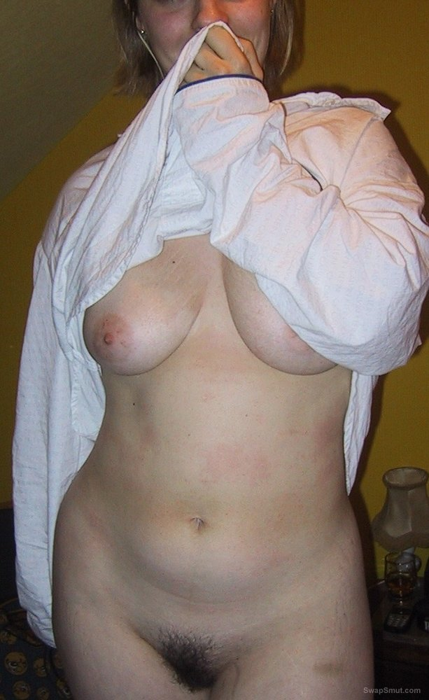 BBW Has A Bushy Pussy And A Pair Of Huge Tits