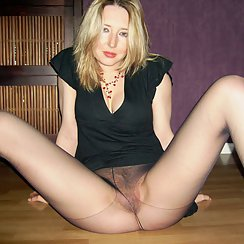 Blonde Shows Off Hairy Twat To The Camera Outdoors