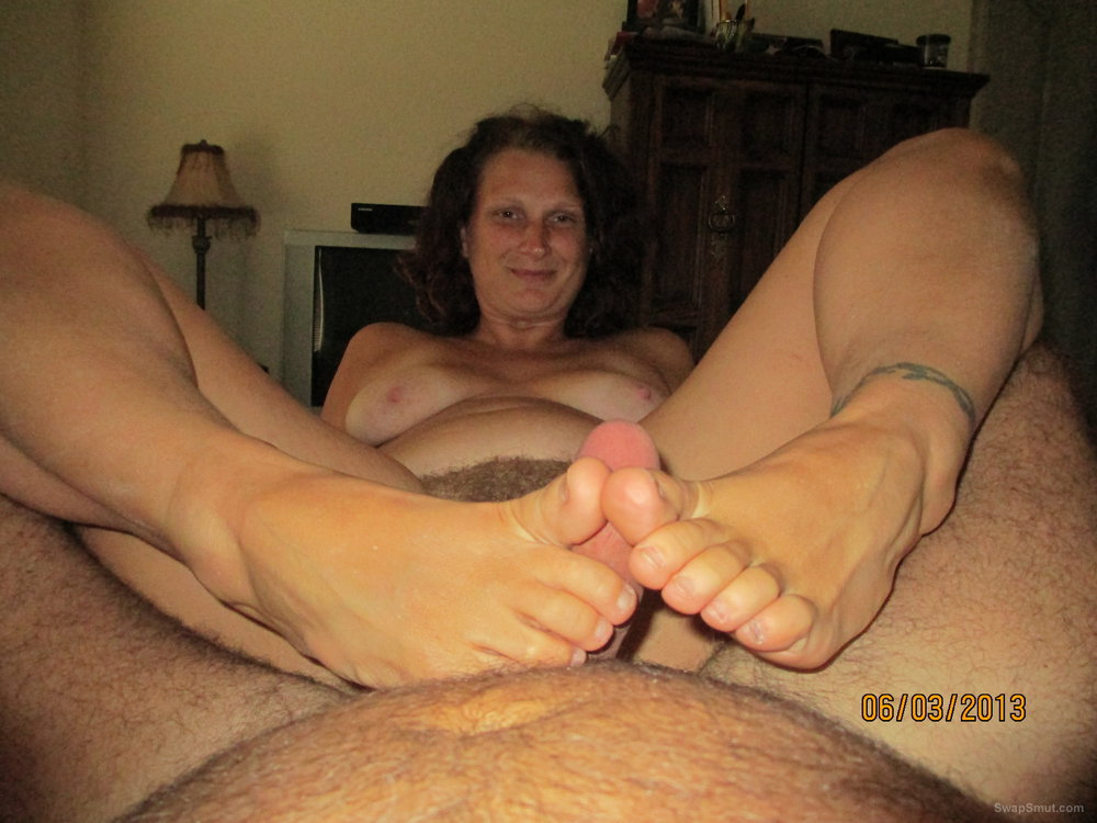 Hairy Woman Loves The Feeling Of A Hard Cock Inside Her