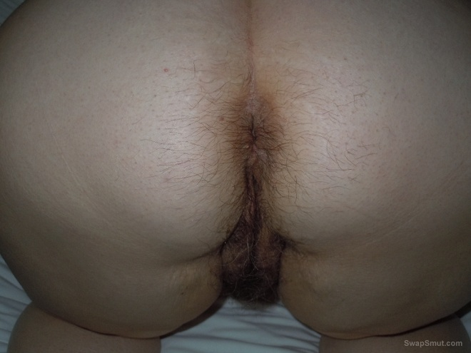Nice Hairy Ass And Pussy Fucked With Toy