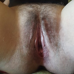 Yummy Pussy Looks Nice And Hairy