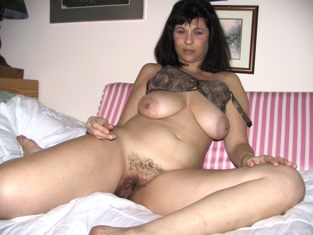 Busty Babe Is Hairy, The Perfect Combination