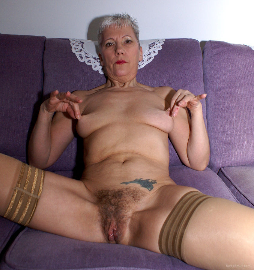 Bbw granny walking around naked 3