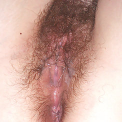 Horny Girlfriend Gets Her Hairy Pussy Creampied