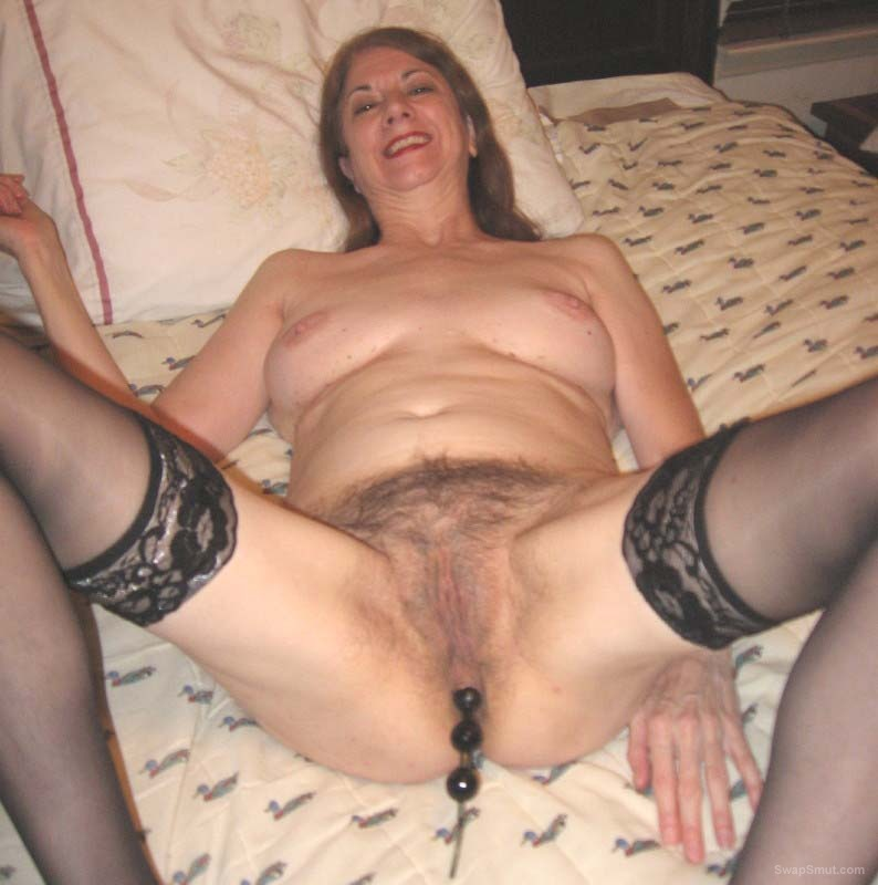 Bbw uses her dirty panties on my cock 8