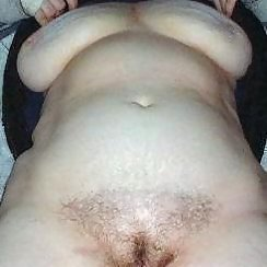 Chunky BBW Has A Hairy Pussy You'll Love