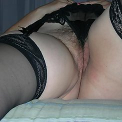 Gorgeous BBW Shows Off Her Hairy Pussy