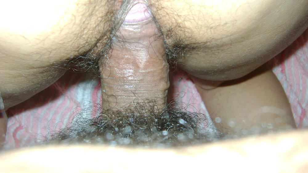 Messy, Hairy Pussy Is Fucked And Filled With Cum
