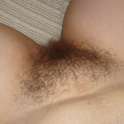 Hairy Pussy On A Sexy BBW Woman