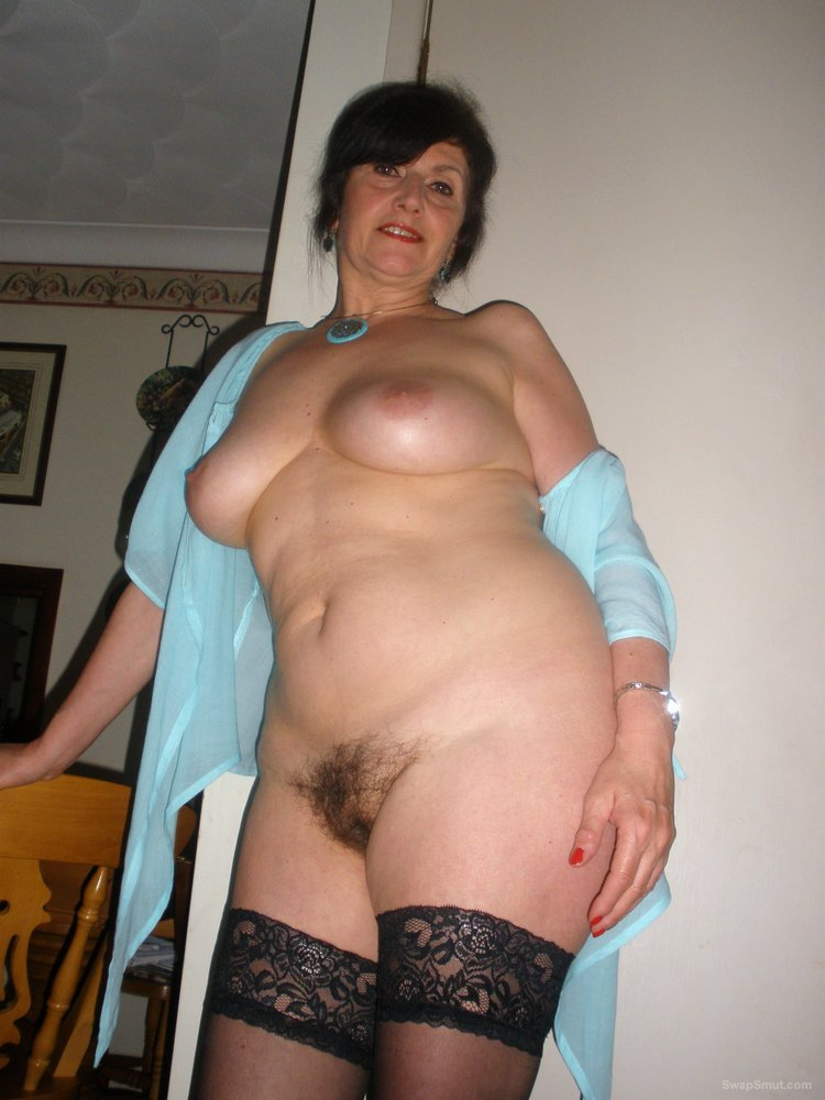 Absolutely Hot And Sexy MILF Shows Tits, Hairy Pussy
