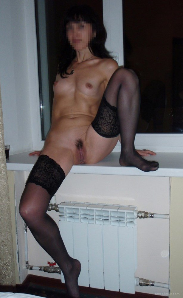 Horny Housewife Waits At Home For Husband In Stockings