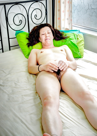 Asian Playing With Her Hairy Pussy In This Hot Scene